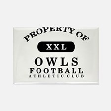 Property of Owls Rectangle Magnet