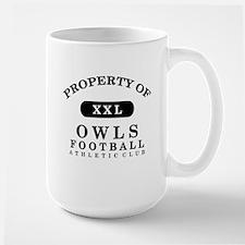 Property of Owls Large Mug