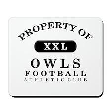 Property of Owls Mousepad