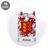 "Gibson 3.5"" Button (10 pack)"