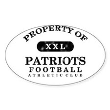 Property of Patriots Decal