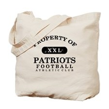 Property of Patriots Tote Bag