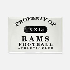 Property of Rams Rectangle Magnet