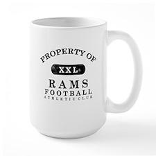 Property of Rams Mug