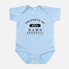 Property of Rams Infant Bodysuit