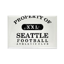 Property of Seattle Rectangle Magnet
