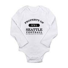 Property of Seattle Long Sleeve Infant Bodysuit