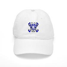 Barker Family Crest Skull Baseball Cap