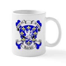 Barker Family Crest Skull Mug