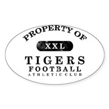 Property of Tigers Decal