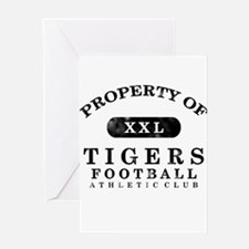 Property of Tigers Greeting Card