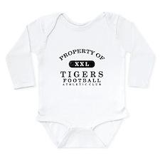 Property of Tigers Long Sleeve Infant Bodysuit