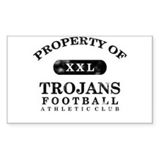 Property of Trojans Decal