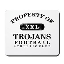 Property of Trojans Mousepad