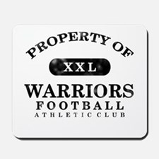 Property of Warriors Mousepad