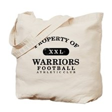 Property of Warriors Tote Bag