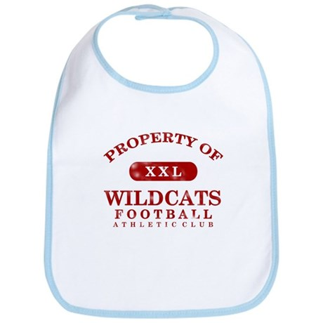 Property of Wildcats Bib