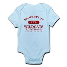 Property of Wildcats Infant Bodysuit