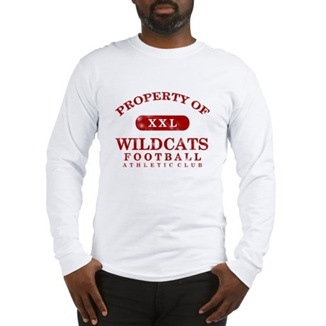 Property of Wildcats Long Sleeve T-Shirt