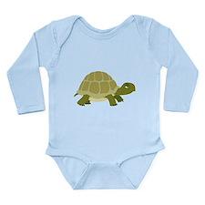 Myrtle the Turtle Long Sleeve Infant Bodysuit