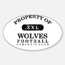 Property of Wolves Decal