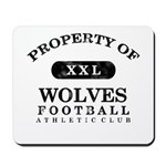 Property of Wolves Mousepad