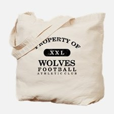Property of Wolves Tote Bag