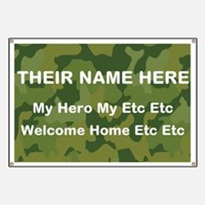 Funny Welcome home army ranger Banner