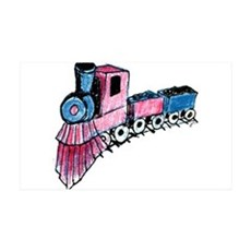 Patriotic I Can Train Wall Decal