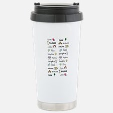 Motivational Words Travel Mug