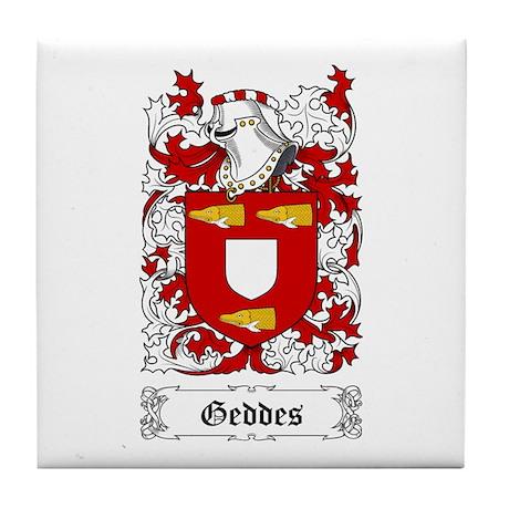 Geddes Tile Coaster