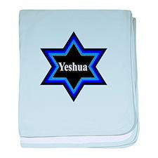 Yeshua Star of David Baby Blanket