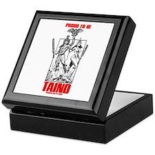 Proud to be Taino Keepsake Box