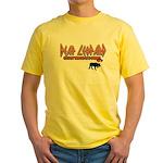 Deaf Leopard Yellow T-Shirt