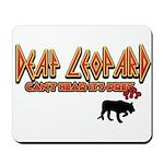 Deaf Leopard Mousepad