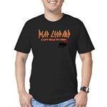 Deaf Leopard Men's Fitted T-Shirt (dark)