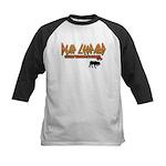 Deaf Leopard Kids Baseball Jersey
