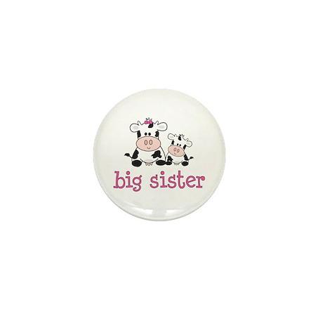 Big Sister Cow Mini Button