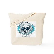 Pi Polar Bear Tote Bag