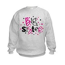 Polka Dot Big Sister Sweatshirt