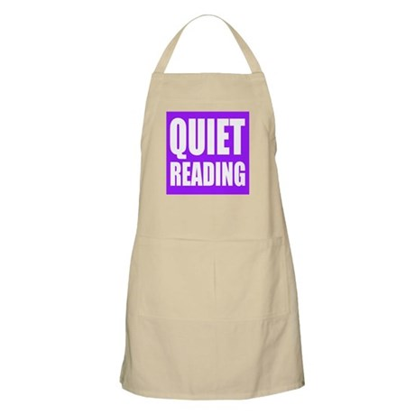 Quiet Reading Light Apron