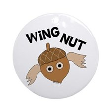 Wingnut Ornament (Round)