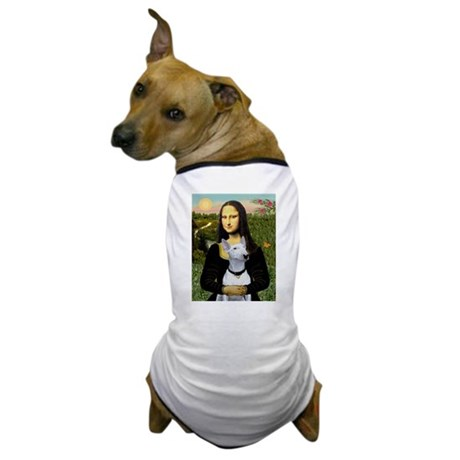 Mona & her White Bully Dog T-Shirt