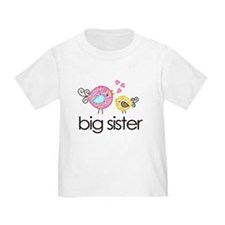Whimsy Birds Big Sister T