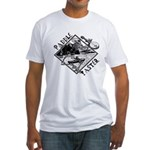 Paddle Faster Skeleton Fitted T-Shirt