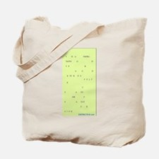 COURT REPORTER Tote Bag