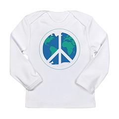 Peace on Earth Long Sleeve Infant T-Shirt