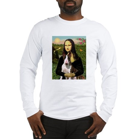 Mona & her Brindle Bully Long Sleeve T-Shirt