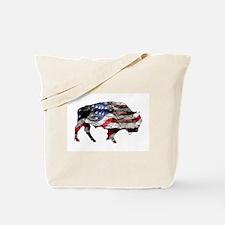 Unique Bison Tote Bag