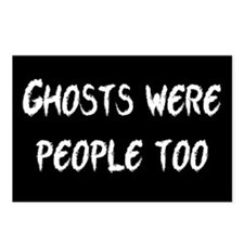 Ghosts Were People Postcards (Package of 8)